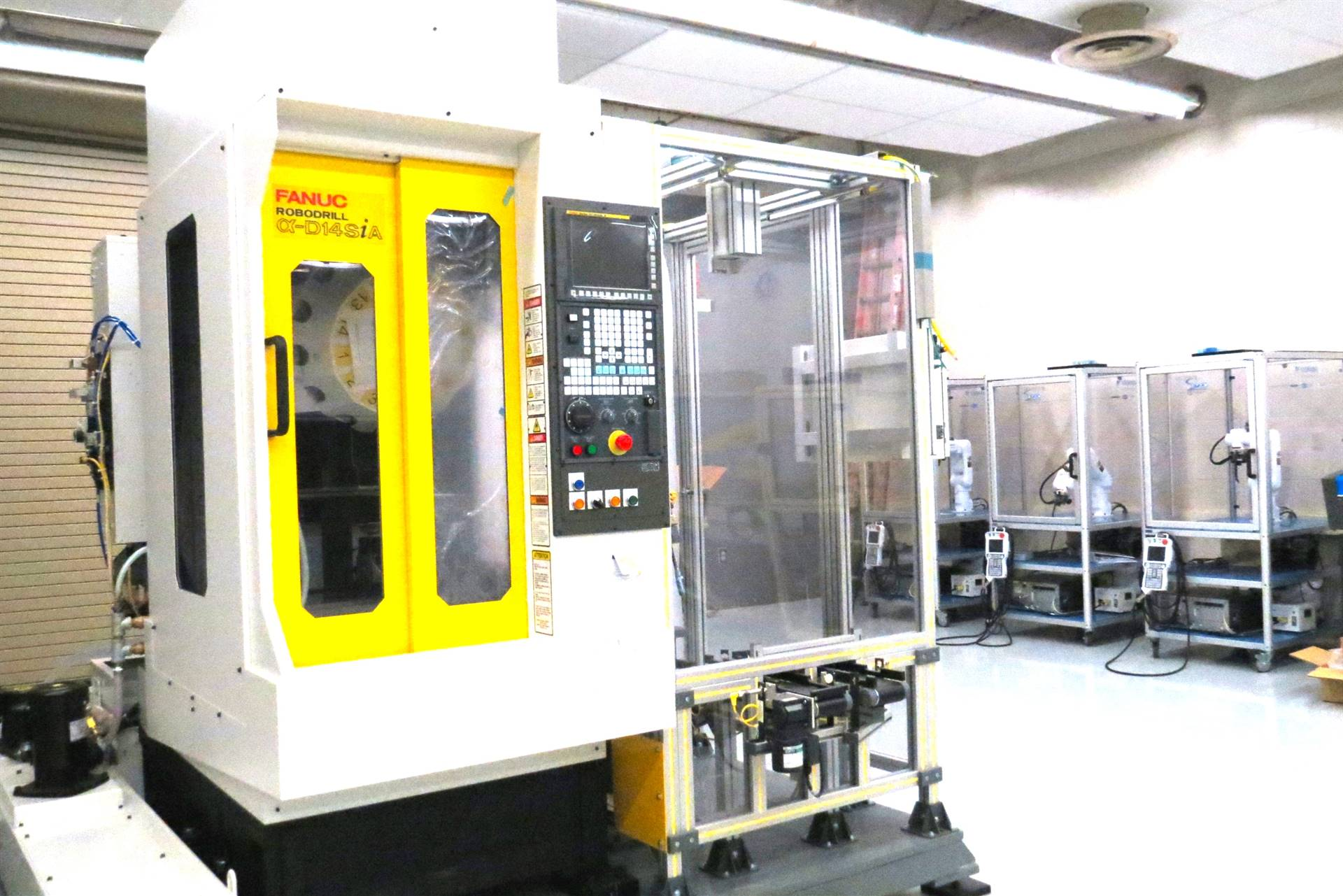 Equipment in the RAMTEC Center