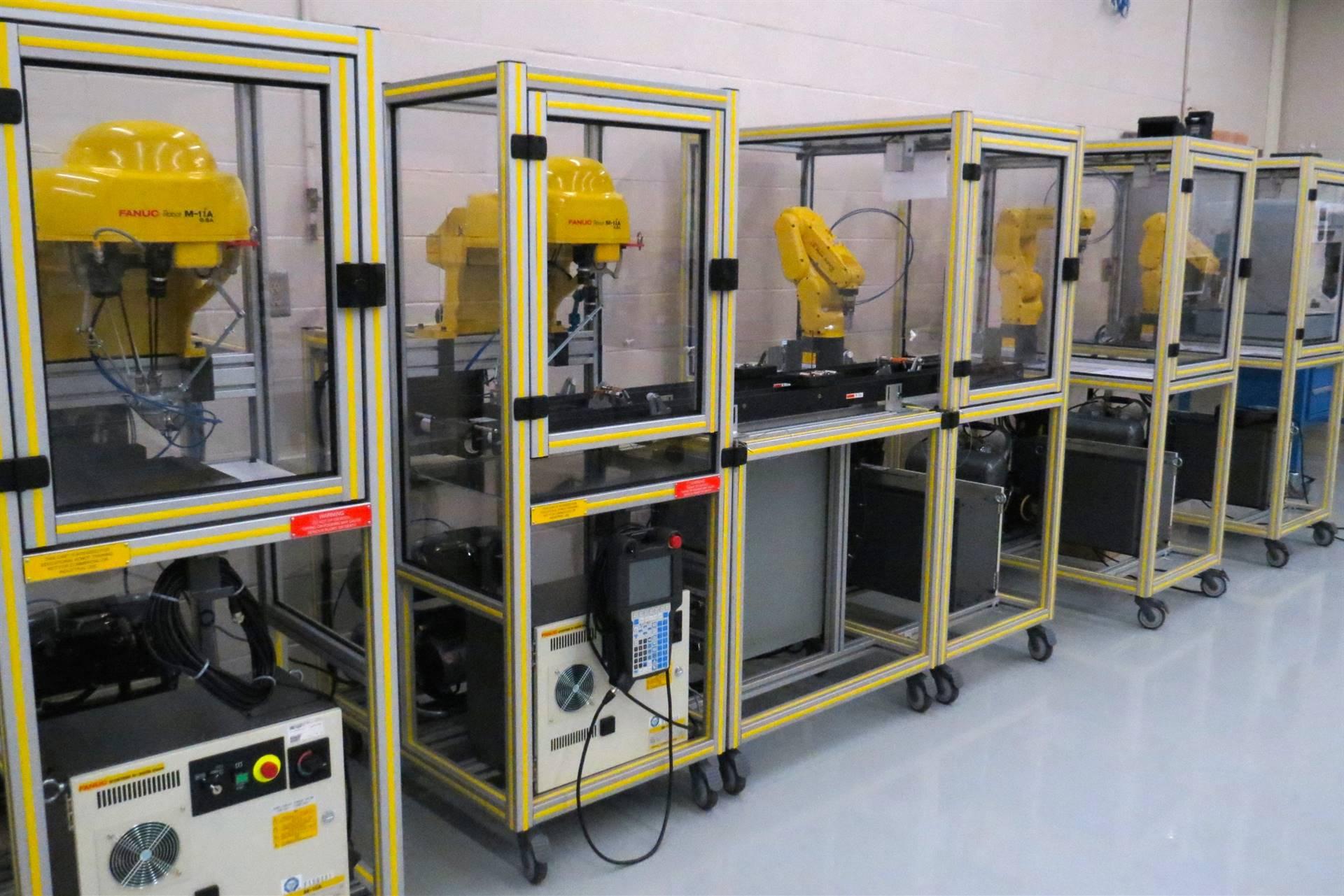 FANUC Robotics Equipment in the RAMTEC Center